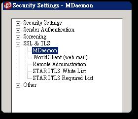 MDaemon apply for the SSL certificate | Old Sen Chang Tan